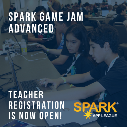 SPARK Game Jame Advanced 2018 Registration Now Open