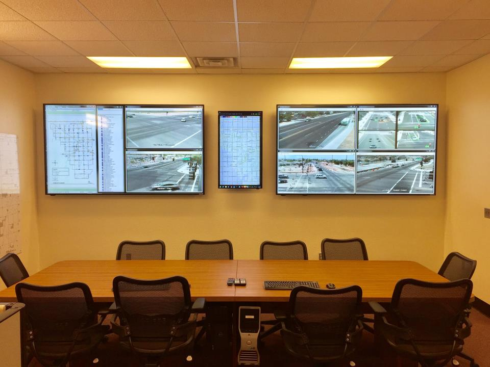 Video Wall at Traffic Operation Center