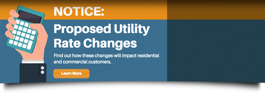 Proposed Utility Rate Changes