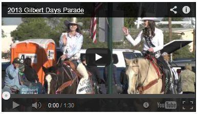 VIDEO: Gilbert Days Parade Carries on Town Tradition
