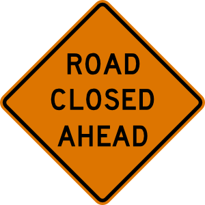 road-closed
