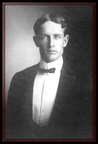 Gilbert's first mayor, Everett Wilbur, in 1920.