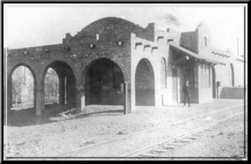 The original train depot that gave rise to the name Gilbert. It was built on land donated by William Gilbert. it was destroyed by the train company in 1964.