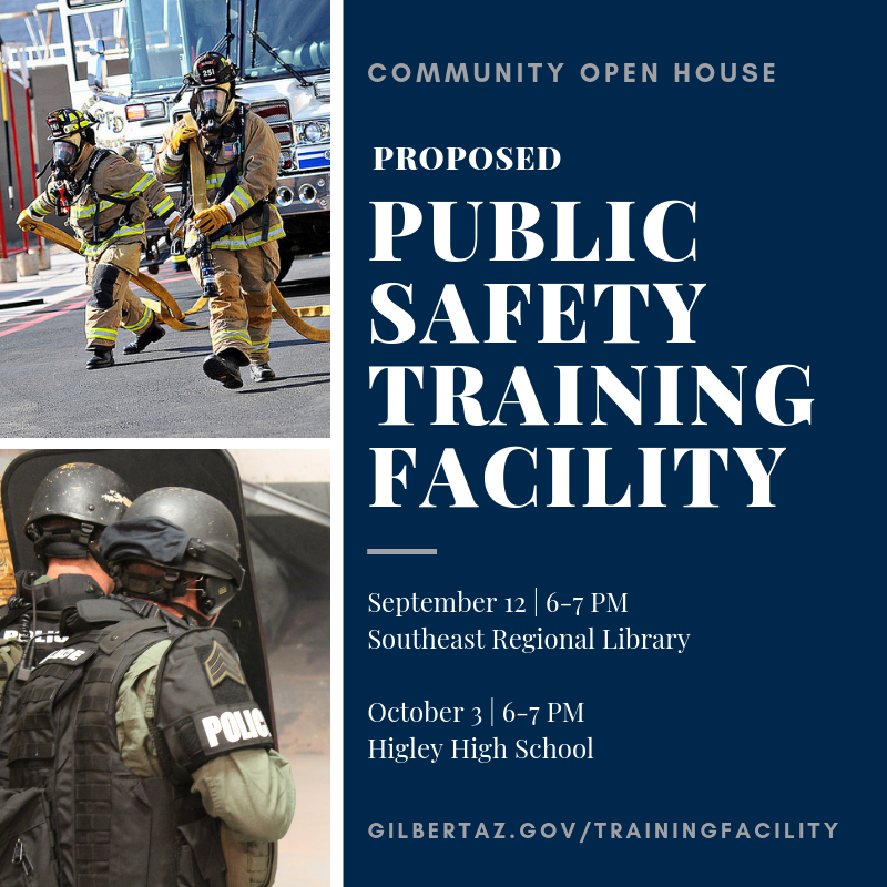 Public Safety Training Facility Community Open House