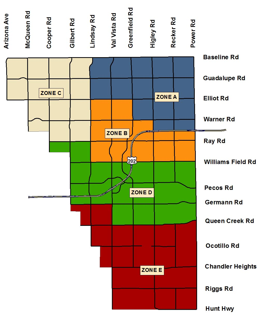 Trash, Recycle and Bulk Pickup Schedules | Town of Gilbert