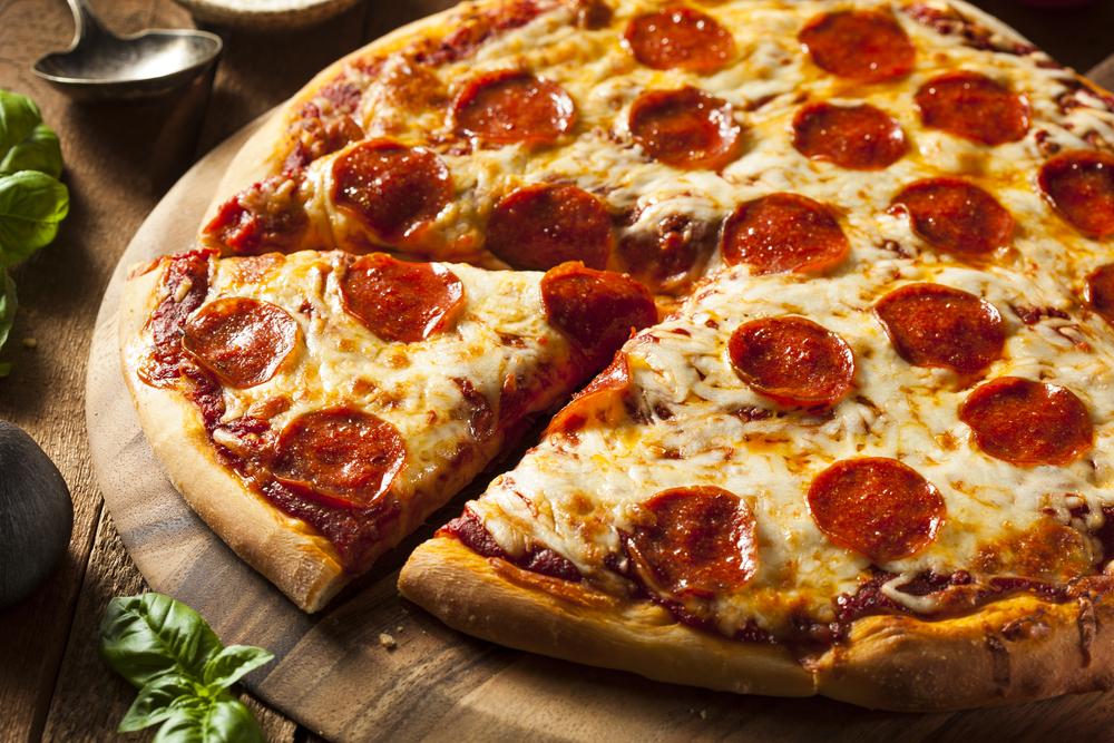Pretzel Dough Pizza