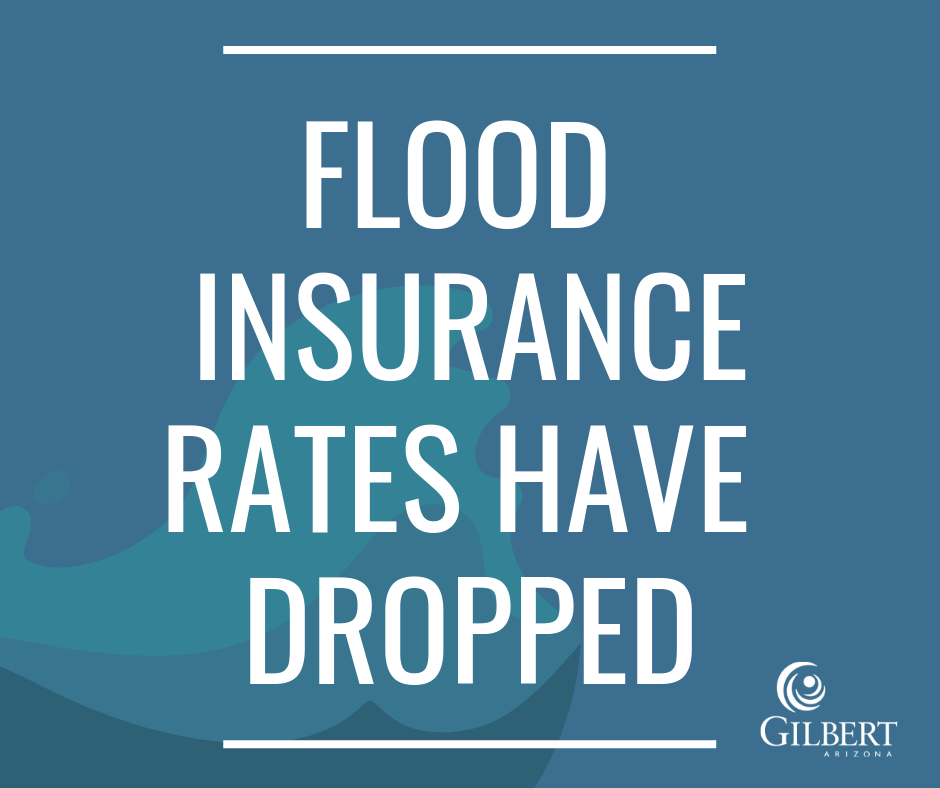 Flood Insurance Rates Have Dropped