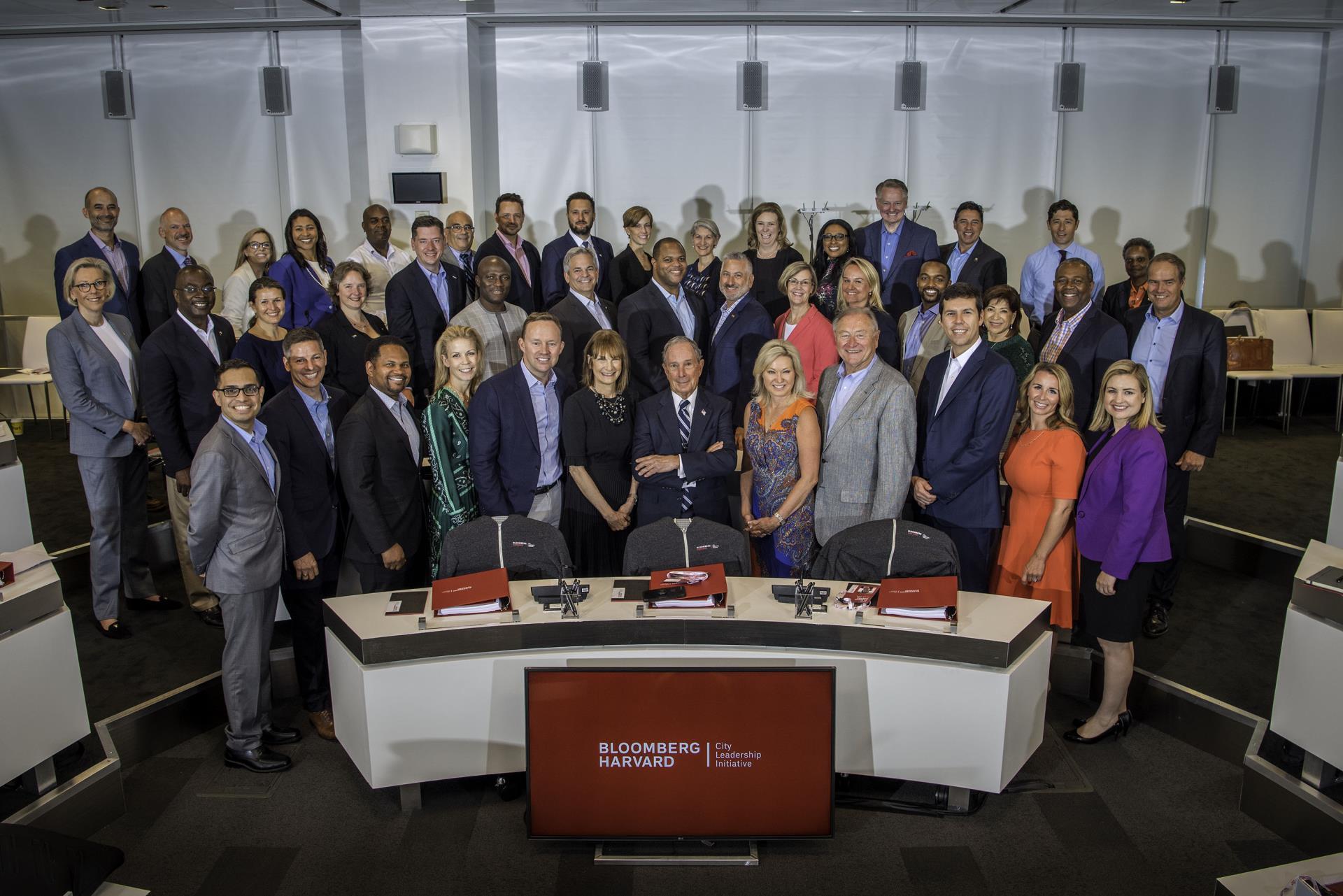 Third Class of Bloomberg Harvard City Leadership Initiative