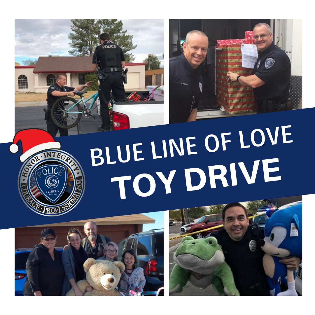 Blue Line Toy Drive