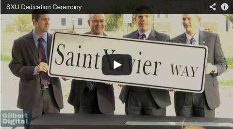 VIDEO: Saint Xavier University Dedicates Future Gilbert Campus