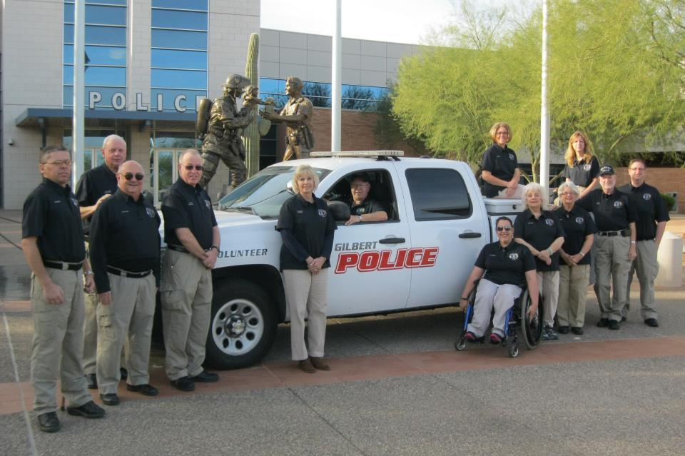 Gilbert PD Volunteers 2-8-2014 (1)