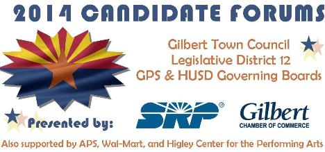 Gilbert Chamber, SRP to Host Series of Candidate Forums