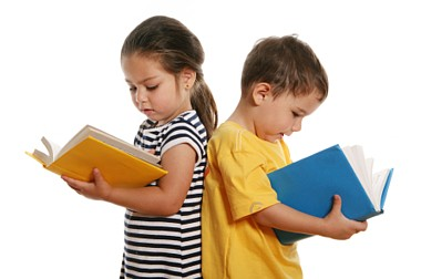 children-reading-book