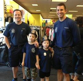50 Children to Shop with a Firefighter for Back to School Clothes
