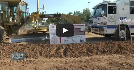 Gilbert Breaks Ground on New Fire Station Location