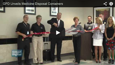 GPD Unveils Medicine Disposal Box