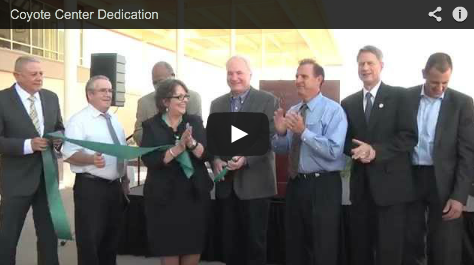 CGCC Dedicates Coyote Center
