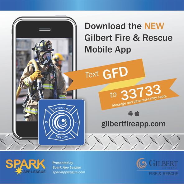 New Fire Mobile App Aims to Keep Gilbert Safe