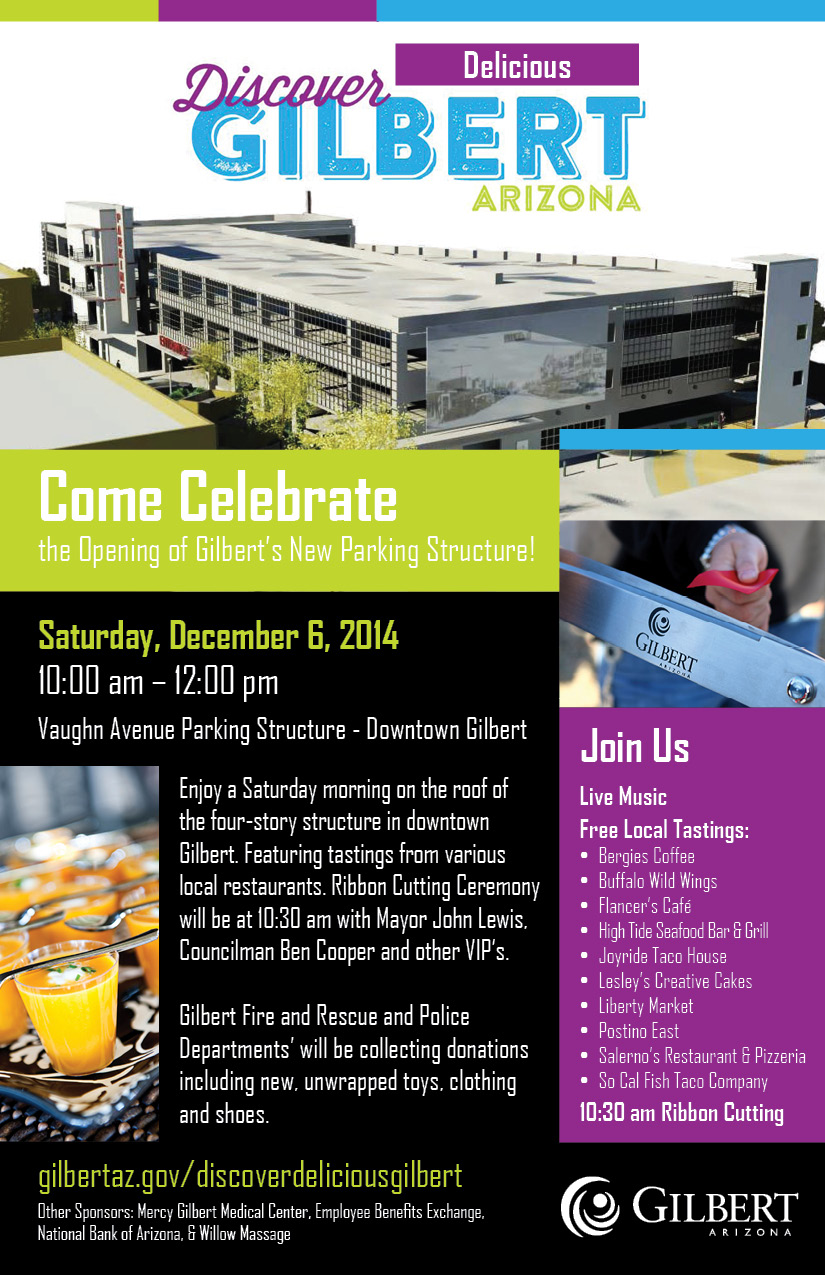 Gilbert Celebrates Opening of Parking Structure with Rooftop Event