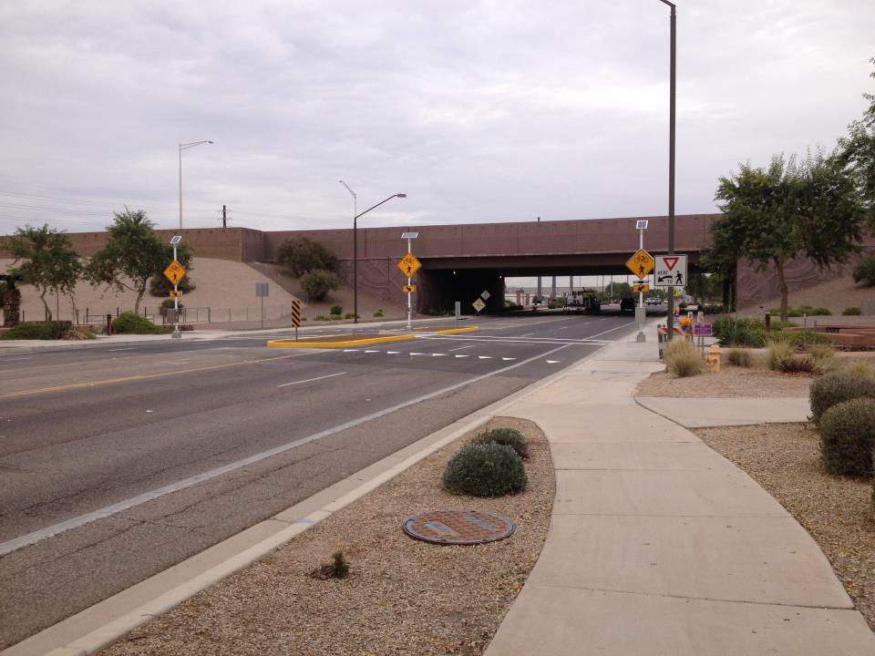 Gilbert Improves Safety with Upgraded Trail Crossing