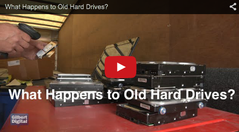Ever Wonder What Happens to an Old Hard Drive?