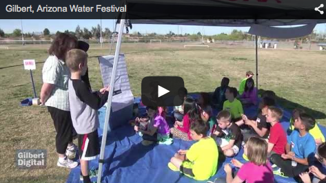 Gilbert Helps Students Learn Water Conservation