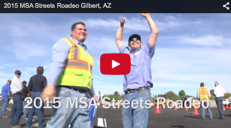 "Public Works Employees Compete in ""Roadeo"""
