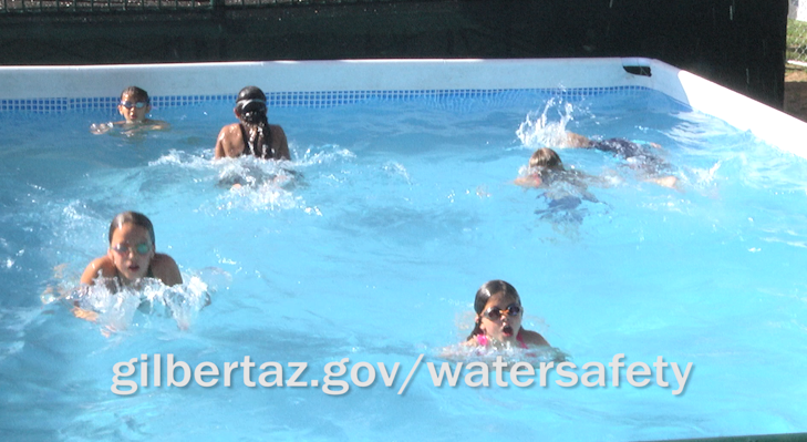 Gilbert Fire & Rescue Gives Water Safety Message