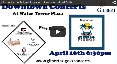 Pianos Duel in Gilbert on April 16th
