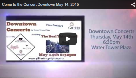 Enjoy a Free Concert Downtown May 14th