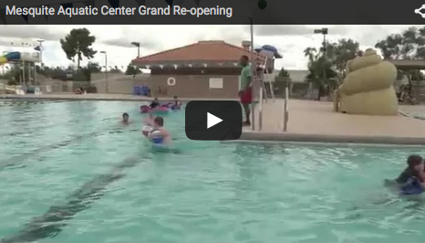 Mesquite Aquatic Center Re-opens After Renovations