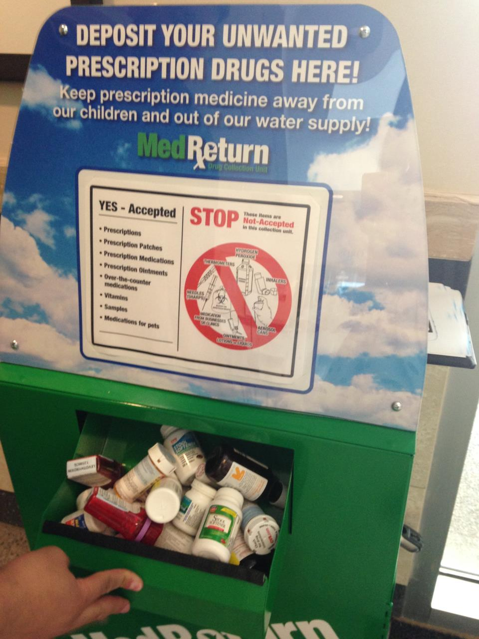 Keeping Prescription Medications out of the Water Supply