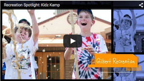 Recreation Spotlight: Kidz Kamp