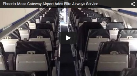 Phoenix-Mesa Gateway Airport Adds Elite Airways Service to San Diego