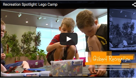 Recreation Spotlight: Lego Camp