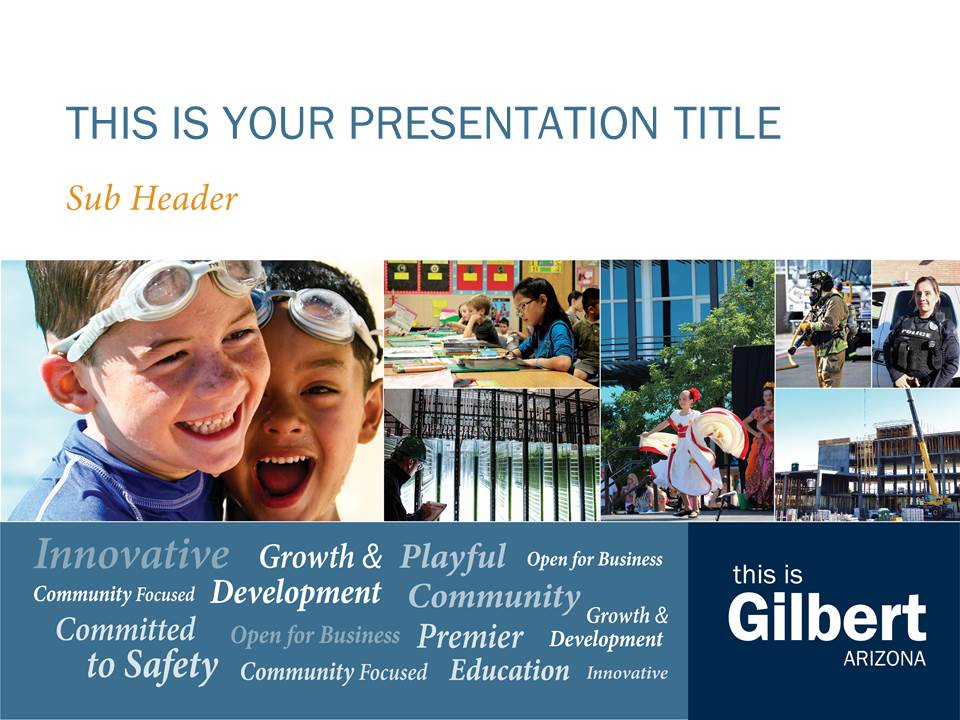 This Is Gilbert Branded PowerPoint Template