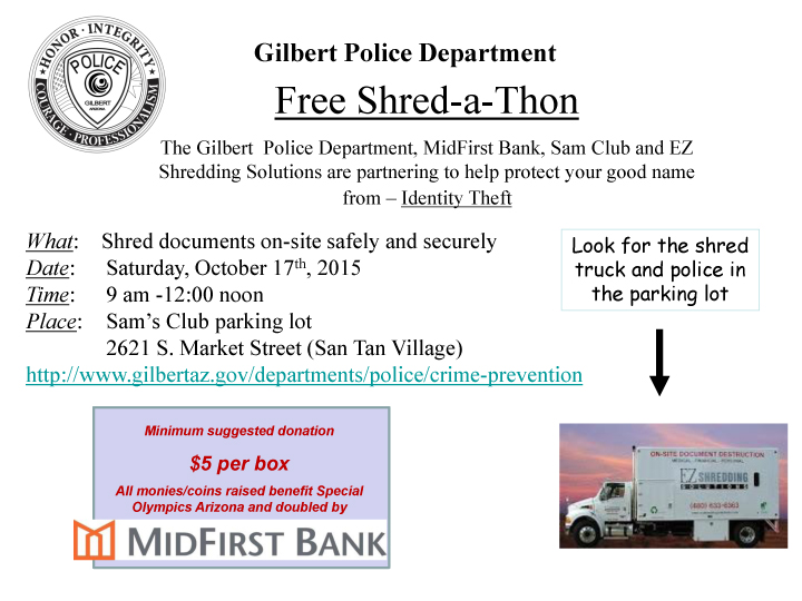 Shred Event 10-17-2015