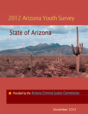 2012 Arizona Youth Survey Profile Report Cover