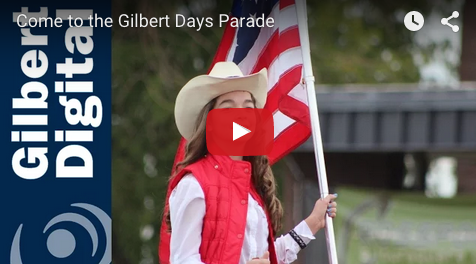 Join us for the Annual Gilbert Days Parade!