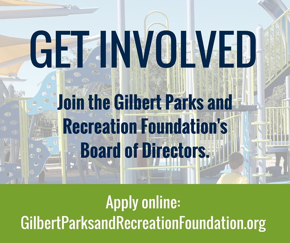 Gilbert Seeks Board Members for Parks and Recreation Foundation