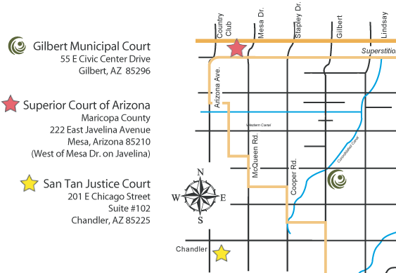 Court Map