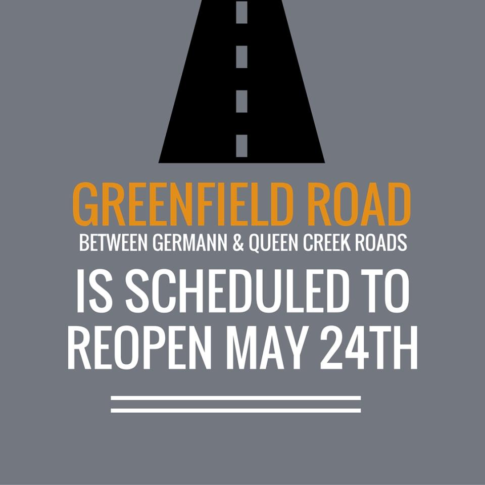 Greenfield Road Reopening - Instagram