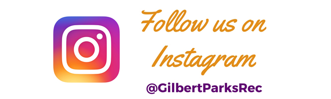 Follow Gilbert Parks and Rec on Instagram