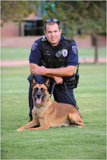 K-9 Officer Mike