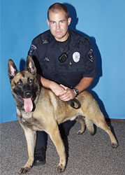 K-9 Officer Barca
