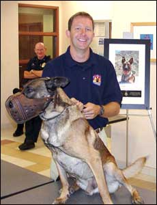 K-9 Officer Otto's Retirement Party - July 2005