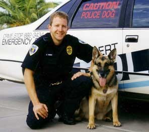 K-9 Officer Cosmo