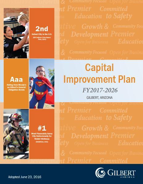 capital improvement plan and infrastructure improvement plan
