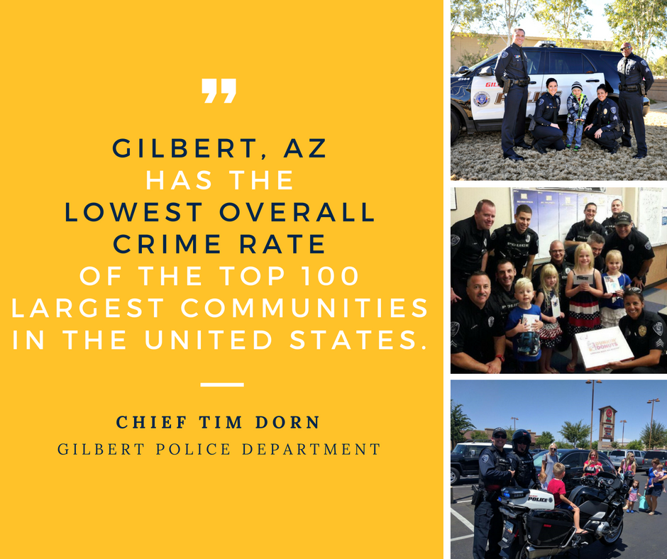 Gilbert Safest City - FB