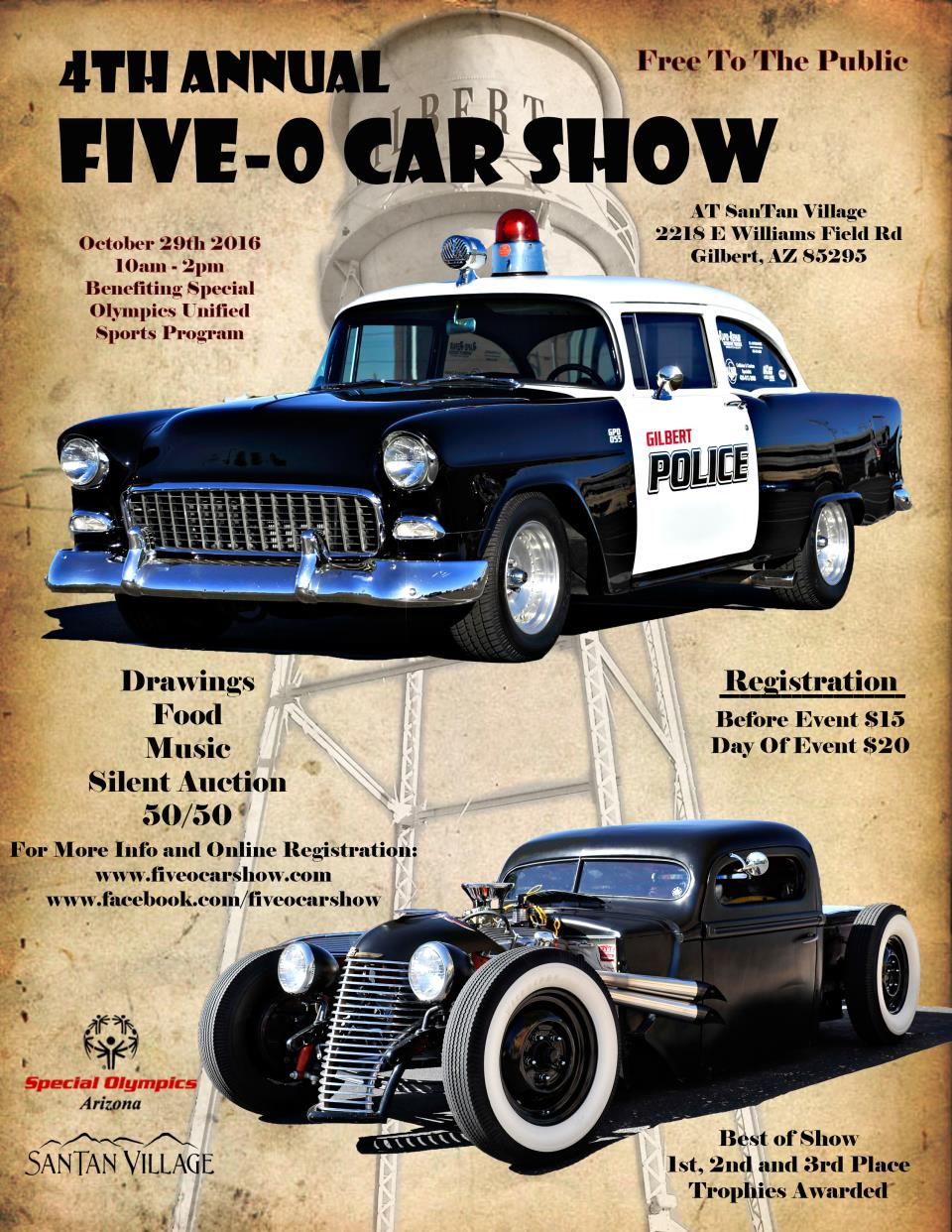 Five-O Car Show Flyer - 2016